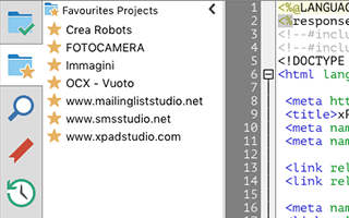screenshot xPad Studio Dev